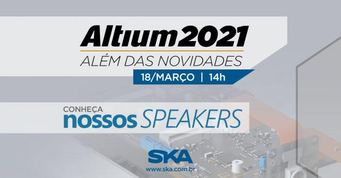 Palestrantes Altium 2021