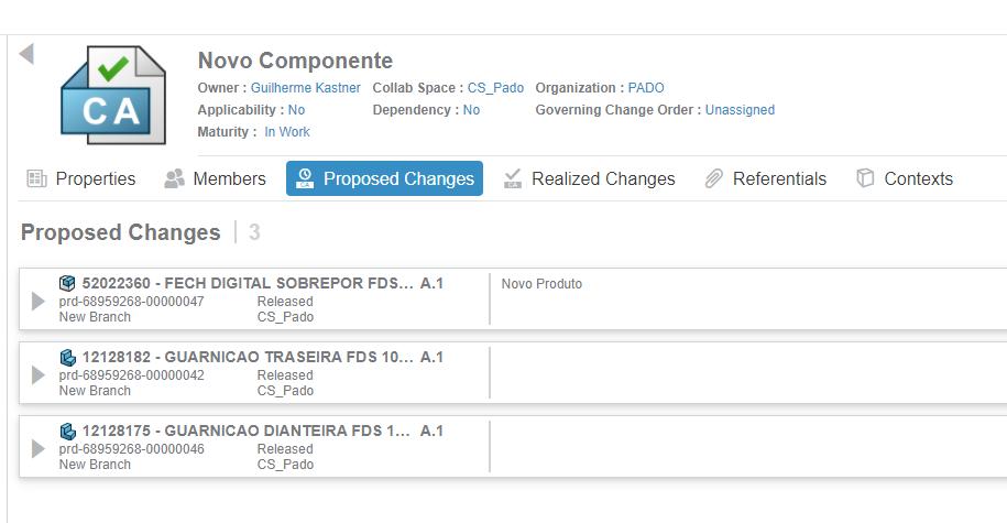 Gestão de mudanças na Plataforma 3DExperience